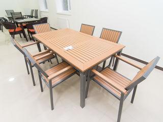 Set masa + 6 scaune pentru terasa noi. - 15% reducere