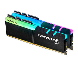 Vând kit-ul de memorie operativă G.Skill Trident Z RGB 16GB ddr4 (2x8GB) 3200mhz 100euro nu cedez