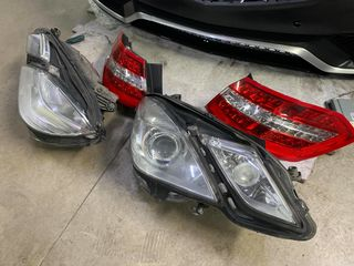Mercedes E Class W212 Elegance: bampere, faruri, stopuri, grila, praguri
