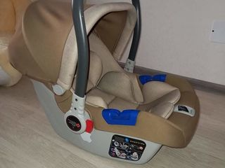 Продам автокресло для детей 0-13 кг. Установка в автомобиле с помощью штатных автомобильных ремней,