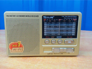 Bluetooth колонка радио golon rx-181, fm/am/sw(1-6), usb/microsd, mp3+bluetooth