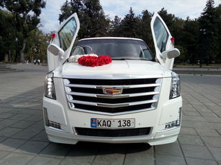 Самые шикарные лимузины в Молдове