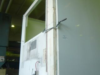 Полы стены двери рефрижераторов