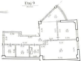 Urgent! Ofreta super! Apartament cu 2 odai, 64m2, 450 Euro/m2