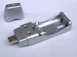 Универсальная USB зарядка для аккумуляторов AA/AAA!