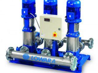 Автоматические установки повышения давления Lowara