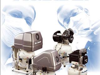 Cтоматологические безмасляные компрессоры