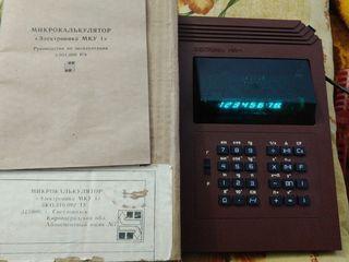 Калькуляторы - новые, есть раритетные модели СССР !