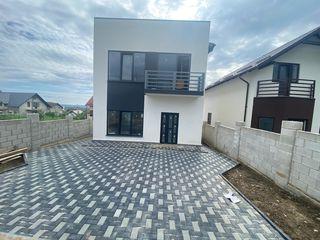 Spre vînzare casă în 2 nivele stil HI-TECH(variantă albă),125m2,comuna Bubuieci!!