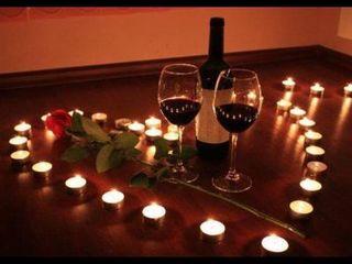 Sotia mea doreste o seara romantica