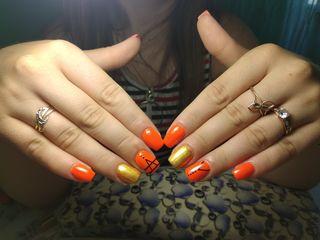 Alungirea unghiilor cu gel