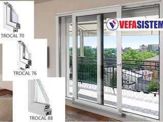 Окна и двери из немецкого профиля Trocal . Ferestre si usi din PVC german Trocal