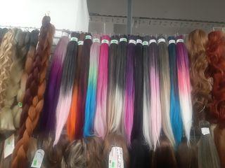 Канекалон, парики цветные