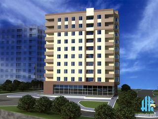 Apartament cu 1 cameră + living, 50 mp, bloc nou! Ghidighici