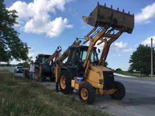Servicii  Buldo-excavator