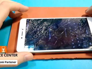 Xiaomi RedMi Note 4x Разбил стекло -заберём, починим, привезём !!!