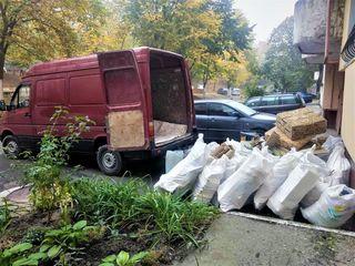 Вывоз мусора тихо и без пыли