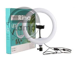 Кольцевая LED лампа 30 см для детей Ring Fill Light YQ320/ Lamp inelara pentru copii 30 cm