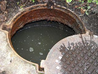 Устранение засоров канализационных колодцев! прочистка,пробивка канализациионных труб 2424