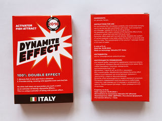 Dynamite Effect - самый мощный активатор клева теперь и в Молдове!