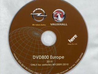 GPS DVD Navigatie Opel DVD800 MY2009-MY2010 Europa Versiune 2019
