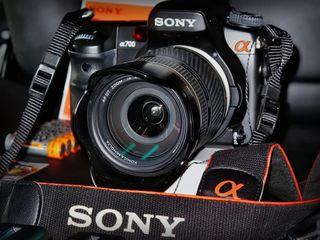 Зеркальный фотоаппарат Sony A700 kit