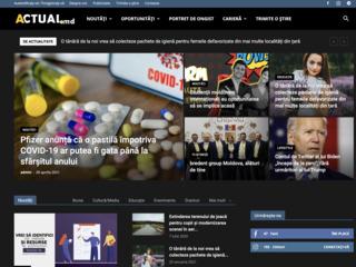 Se vinde portalul de știri Actual.md