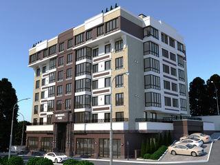 480eur/m2!!! Park Residence, apartament în bloc nou! Panoramă spre Chisinau