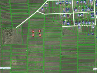 4 участка по 10 соток под строительство, в сел.Страстены(окраина), 2км.от Кишинева