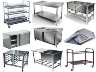 Confectionam mese , chiuvete , butoae si multe alte lucrari din inox alimentar!!
