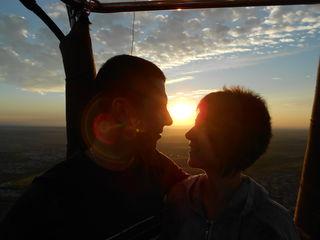 Романтический подарок - полёт на воздушном шаре
