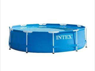Piscina rotunda Intex, 305 x 76 cm, cadru metalic, noua sigilata!