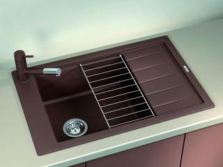 Раковина для кухни, Бренд: (Florentina), Модель (LIPSI-780 P). Качество Премиум. Гарантия 20 лет.