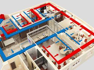 Sisteme de ventilare / încălzire/ вентиляционная система /приточно-вытяжная вентиляция/