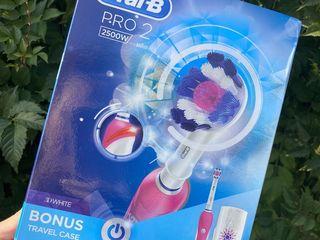 Электрические зубные щетки для взрослых и детей оригинал oral-b насадка подарок