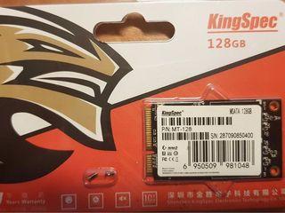 Новый SSD mSATA KingSpek 128Gb - 700 lei + адаптер mSATA-SATA.