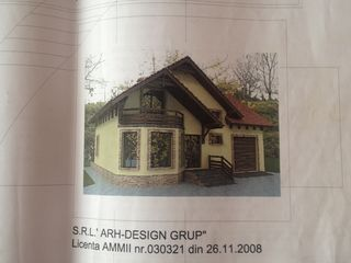 7 ari Truseni fundament si beci deja construit, proiectul de casa