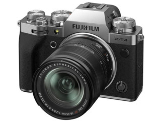Aparat foto mirrorless FujiFilm X-T4 silver/XF18-55mm Kit
