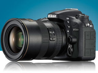 Nikon d7200 body si obiective.