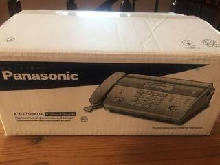Новый KX-FT984RU - факсимильный аппарат Panasonic на термобумаге c автообрезкой .гарантия