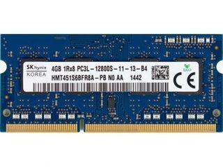DDR2, DDR3, DDR3L (1/2/4 Gb) для ноутбуков с гарантией (рабочая 100%). От 50 лей.