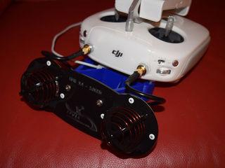 FPVLR Phantom 4 Pro Circular Polarized Long Range Antenna Upgrade Kit