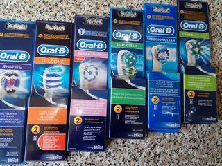 Rezerve originale (Germania) pentru periuta de dinti electrica OralB (maturi si copii)