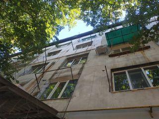 Termoizolarea alpiniști balcoane fasadelor shele