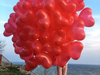 Inimioare cu heliu . Cel mai bun pret