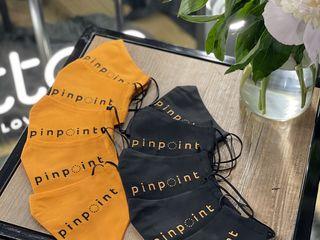 Masti reutilizabile, din material textil, personalizate cu logo'u companiei