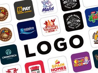 Креативные логотипы, брендбук - логобук.