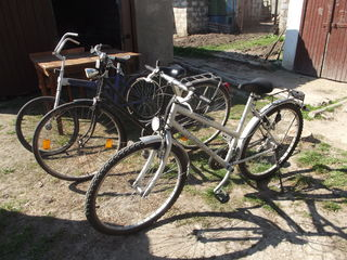 Trei biciklete