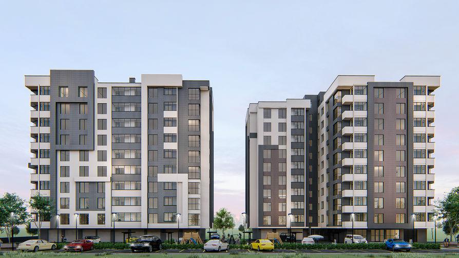 Жилой комплекс Алба-Юлия Липкань 7, фото 2, цена 650€ м2 - SV Grup