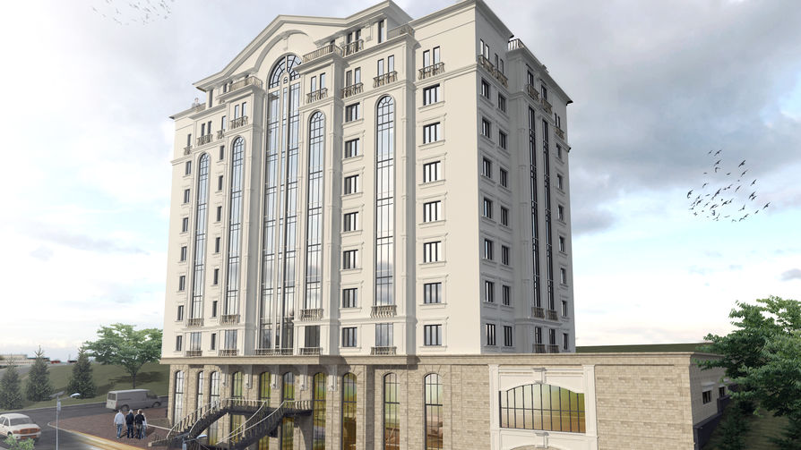 "Bloc locativ ""West End Residence"" Pietrariei 54, фото 2, цена 850€ м2 - Eurocons"